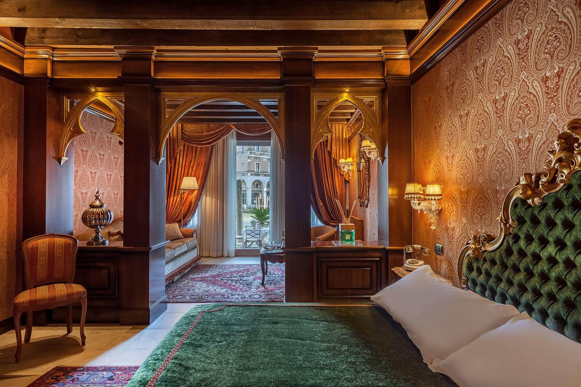 Rooms - Hotel Al Ponte Antico - Venice